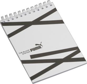 Caderneta Wire-O 105 x 150mm - (mínimo 300). Solicitar a quantidade de folhas e de cores para impressão