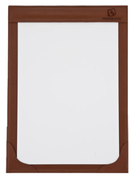 Risque Rabisque Couro CC1004 - 17 x 23,5 cm - Folhas A5 - (mínimo 150)